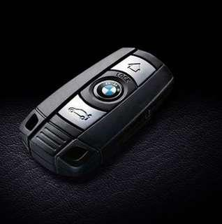 Original Genuine BMW E Series 3 button remote key