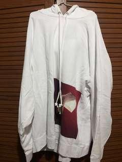 Raf Simons Robert Mapplethorpe Oversized White hoodie