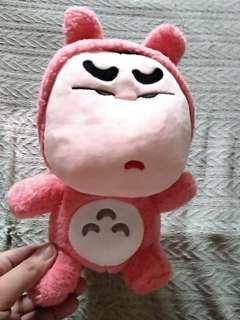 #SparkJoyChallenge 蜡笔小新Crayon Shin Chan 龙猫Totoro plush soft doll
