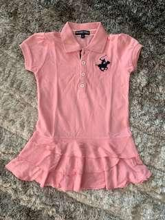 🚚 Like New Polo Dress for Girl (size 3)