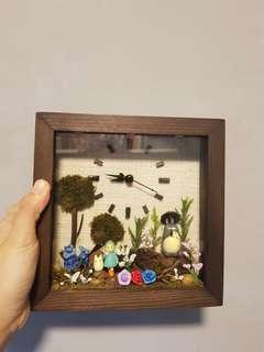 Totoro clock and home decoration