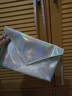 Clutch Silver