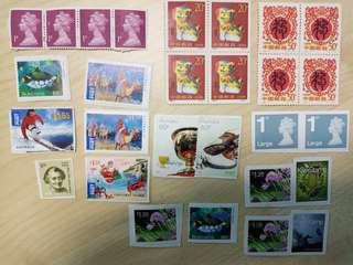 Stamps mix country