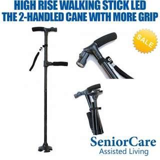 High Rise Walking Stick With Build-In LED
