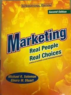 🚚 行銷課本Marketing(原文書)