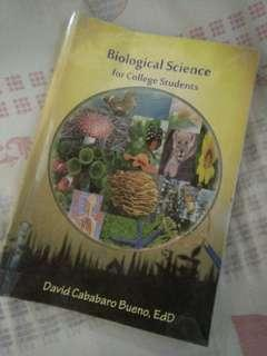 Biological Science for College Students (by David Cababaro Bueno)