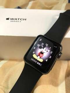 太空灰38mm Apple Watch Series 3