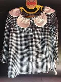 🚚 日系格紋上衣