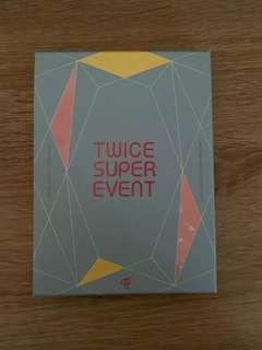 selling twice super event dvd