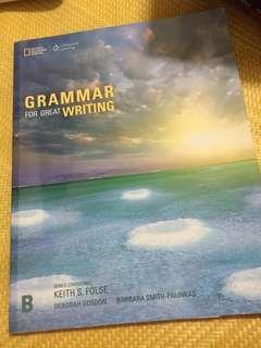 Grammar for great writing #我要賣課本