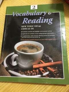 Vocabulary & Reading #我要賣課本