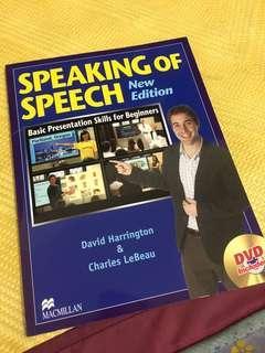 Speaking of speech #我要賣課本