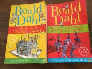 Roald Dahl - Charlie and the chocolate factory / Danny the champion of the world