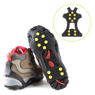 New Ice Snow Shoe Spikes (L + XL Size)