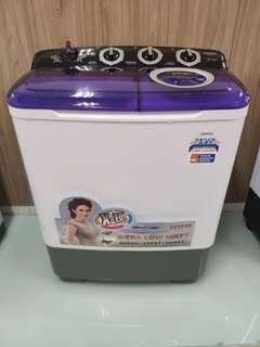 Mesin cuci 2 Tabung Sanken Kapasitas 7Kg