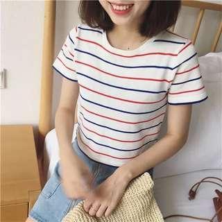 白間短袖T恤