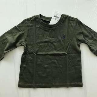 🚚 Ralph Lauren ~ Cotton Long-Sleeve T-shirt (18MTHS)