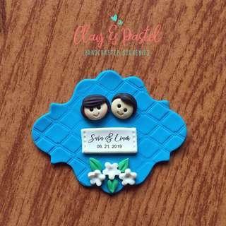 Wedding Souvenir Ref Magnet