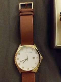 Marc Jacobs women leather watch
