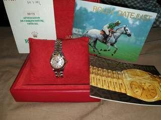 Rolex Lady Datejust 69173 Pearl face