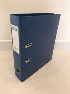 Ring File  - blue colour