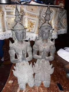 THAI PAIR BUDDHA GOD