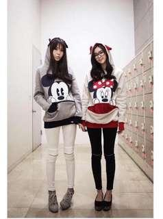 Mickey and Minnie Hoodie Jacket
