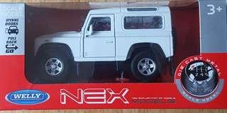 land rover defender 90 1/36 scale