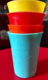 Vintage Magnolia Plastic Cups