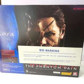 二手 PS4 Metal Gear Solid 特別版主機 500gb, 不含遊戲
