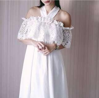 White dress Jolie clothing