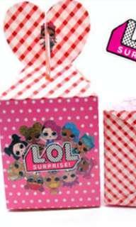 🚚 lol surprise gift box candy box