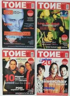 TONE malaysia music magazine 2000-2002