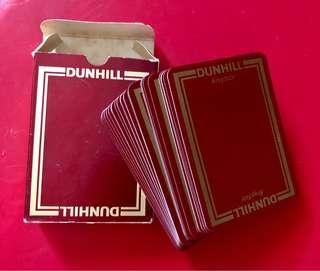 Vintage Dunhill Playing Cards
