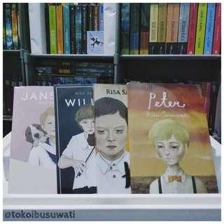 Paket 4 Buku Peter CS - Risa Saraswati