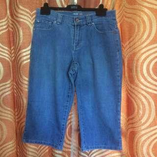 Style & Co. Cropped Jeans