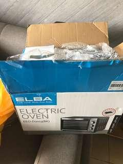 Elba oven with free baking tools