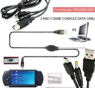 PSP USB Charging Cable