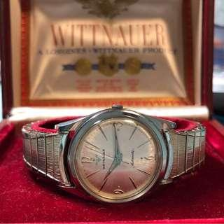 Vintage Automatic Wittnauer Watch 古董自動錶連盒