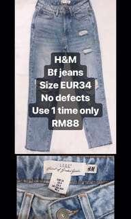 H&M bf jeans