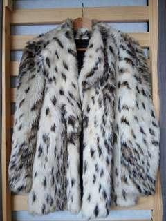 Simulated Fur Jacket