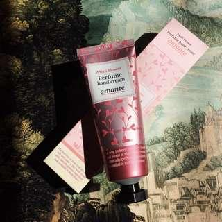 Perfume Hand Cream Amante Korean (Rose Scented)