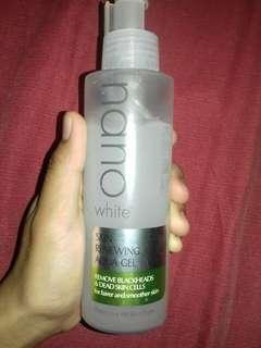nano white scrub