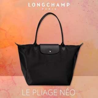 🚚 |  LONGCHAMP  |  LE PLIAGE NEO  |  1899  |  L Size Tote Bag