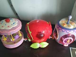 🚚 Bandai cute doll wagons