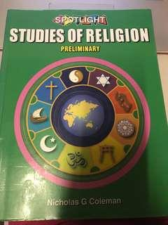 SOR 2 PRELIM TEXTBOOK - studies of religion II