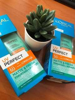 UV perfect matte & Fresh SPF 50/Pa++++