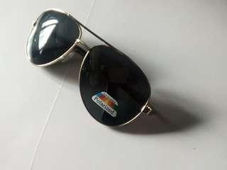 太陽眼鏡 sunglasses golden frame