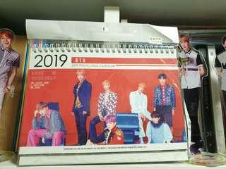 BTS 2019 Photo Desk Calendar