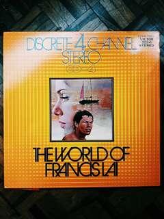 The World of Francis Lai LP Vinyl Record